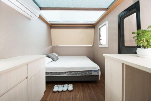 房型6,四人房(標準雙人床+上下舖) –車號 16:RED 1